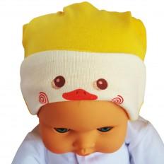 Bonnet bébé réversible - taille unique | Canard