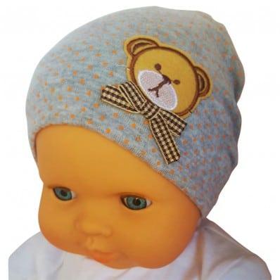 C2BB - Beanie bambino teddy bear- singolo taglia | Grigio