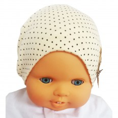 Bonnet de bébé petit ourson - taille unique | Beige
