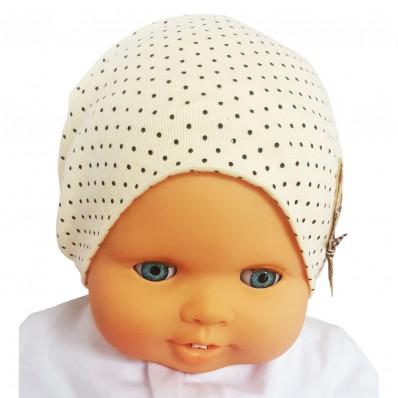 Bonnet de bébé petit ourson