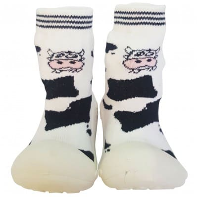 Hausschuhe - Socken Baby Kind geschmeidige Schuhsohle Mädchen | Kuh