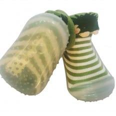 Chaussons-chaussettes enfant antidérapants semelle souple | Hérisson