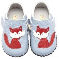 YXY - Chaussures premiers pas cuir souple | Petit renard