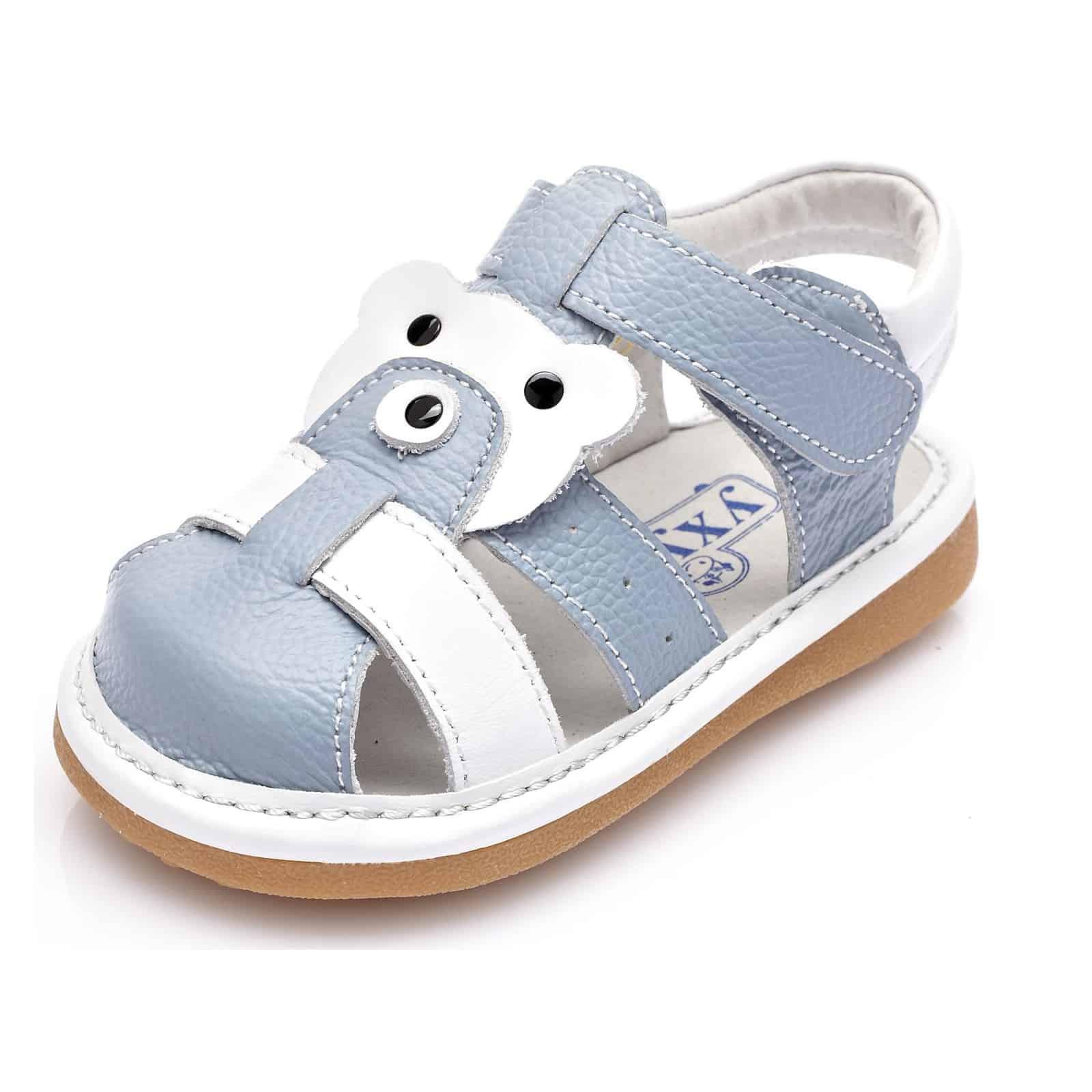 Little blu Lamb, Sandali bambine bianco bianco, bianco (bianco), 23