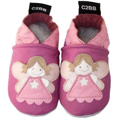 Soft leather baby shoes girls | Little fairy