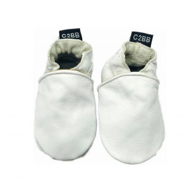 Krabbelschuhe Babyschuhe geschmeidiges Leder - Junge oder mädchen | Piment von Espelette