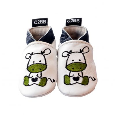 Soft leather baby shoes boys | Baby Zebra
