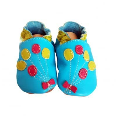 Soft leather baby shoes girls | Balloons