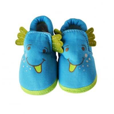 Chaussons en tissu DRAGON C2BB - chaussons, chaussures, chaussettes pour bébé