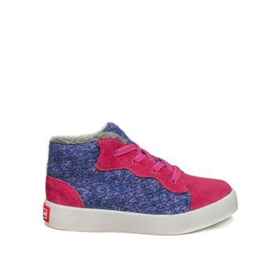 Little Blue Lamb - Zapatos de suela de goma blanda niñas   Zapatillas de deporte terciopelo de color rosa azul