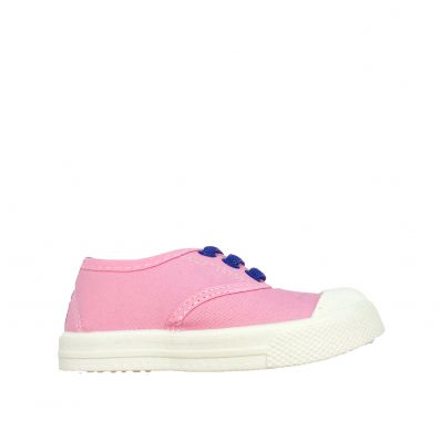 Little Blue Lamb - Soft sole girls Toddler kids baby shoes | Purple pink velvet sneakers