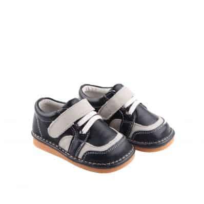 FREYCOO - Krabbelschuhe Babyschuhe Leder - Mädchen | Violett gefüllte stiefel