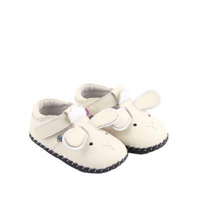 Chaussures premiers pas cuir souple sandales fermées LITTLE SHEEP