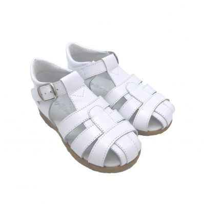 Chaussures semelle souple sandales fermées CEREMONIE