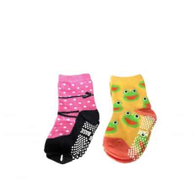 3 pairs of girls anti slip baby socks children from 1 to 3 years old | item 19
