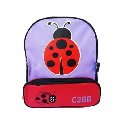 ORANGE IDEA - Girls children backpack schoolbag | Ladybird