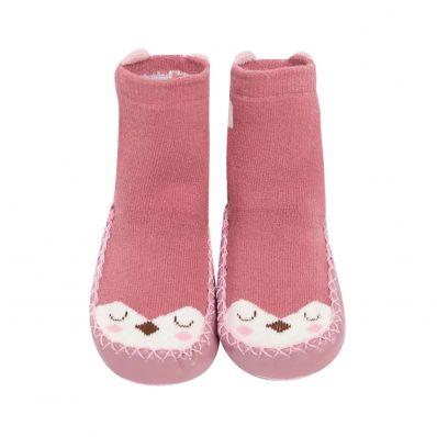 Chaussons-chaussettes hautes Biche