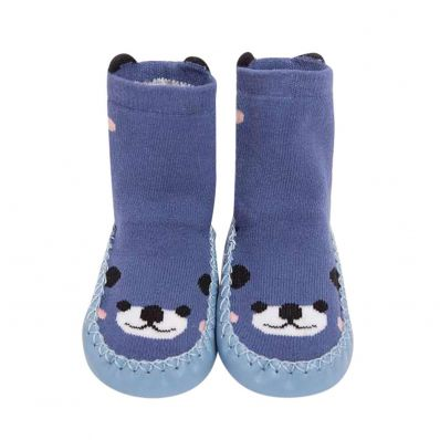 Chaussons-chaussettes hautes Ours