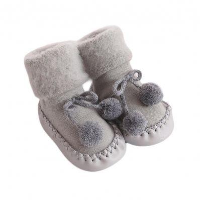 Chaussons-chaussettes douceur Souris C2BB - chaussons, chaussures, chaussettes pour bébé