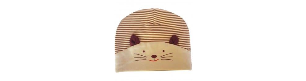 Gatito gorras bebé